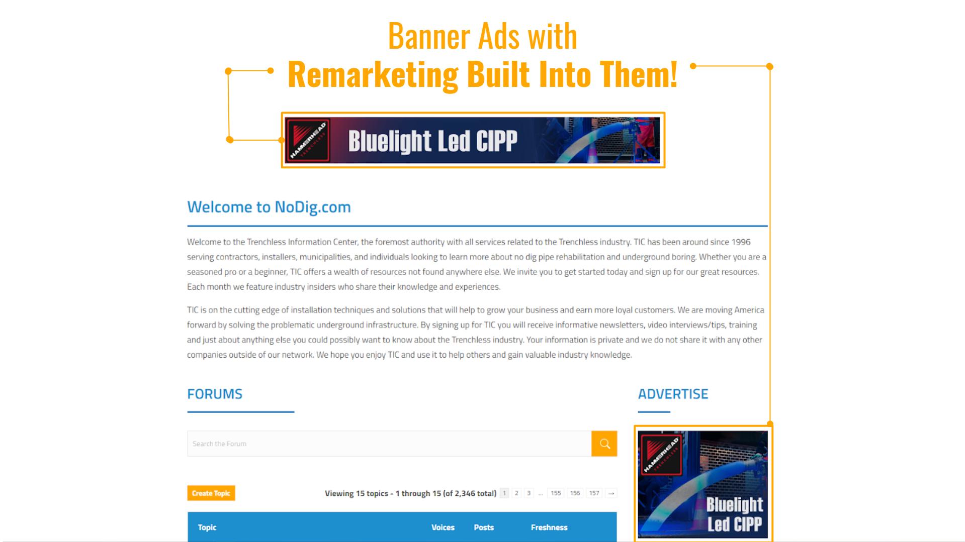 banner ads demo