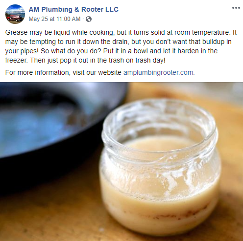 social media - AM Plumbing and Rooter LLC